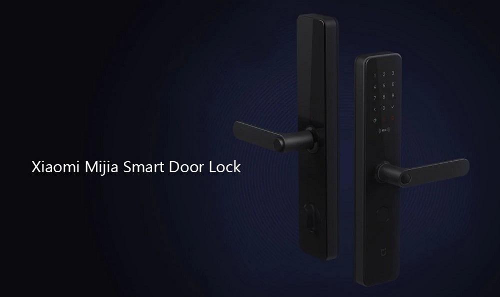 Xiaomi Mijia Smart Door Lock 3D Fingerprint Password NFC Bluetooth Unlock