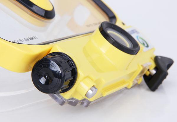 720P HD Status LCD Display Waterproof Diving Mask Camera Digital Video Recorder Camcorder