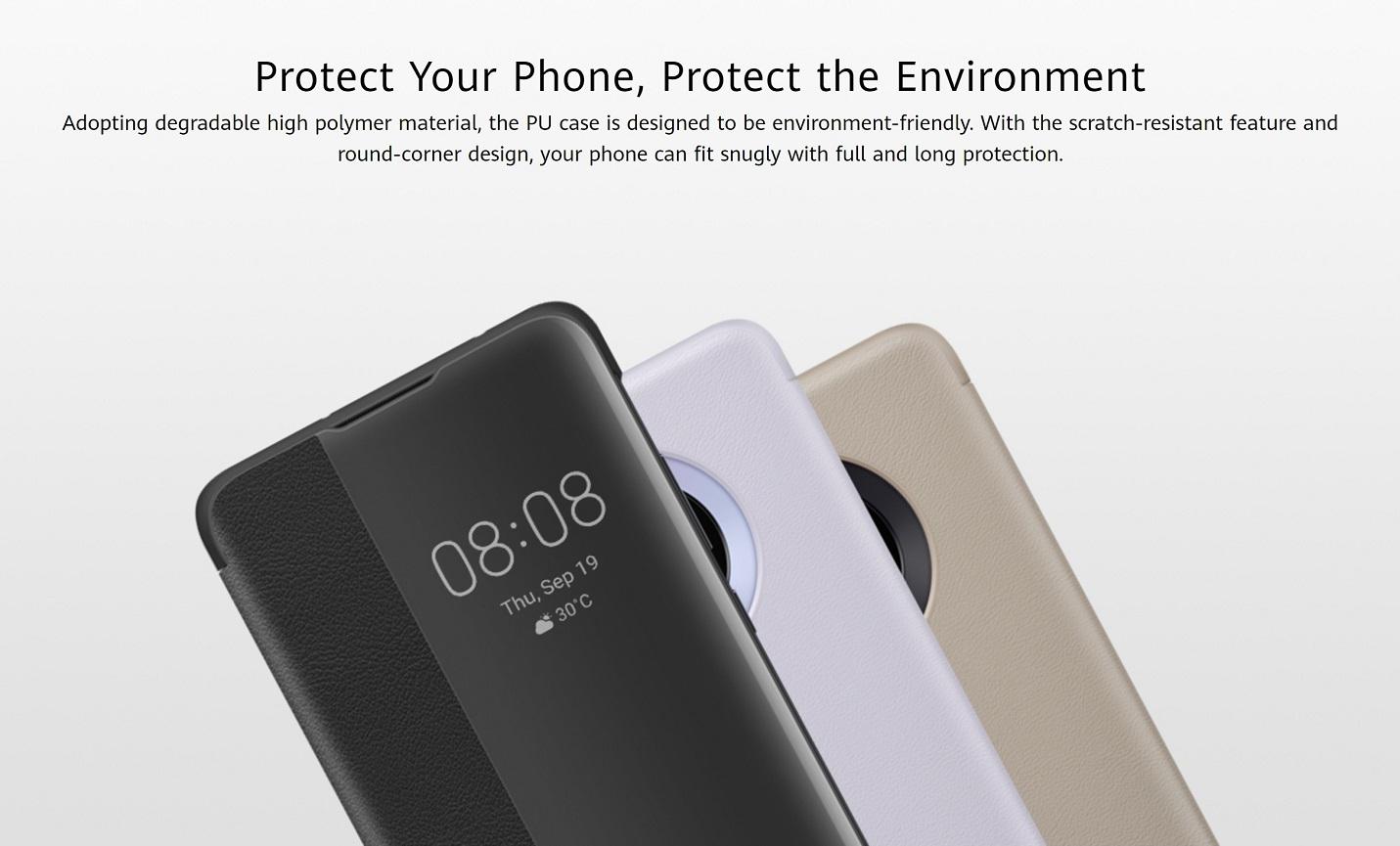 Huawei Mate 30 Smart View Flip Cover