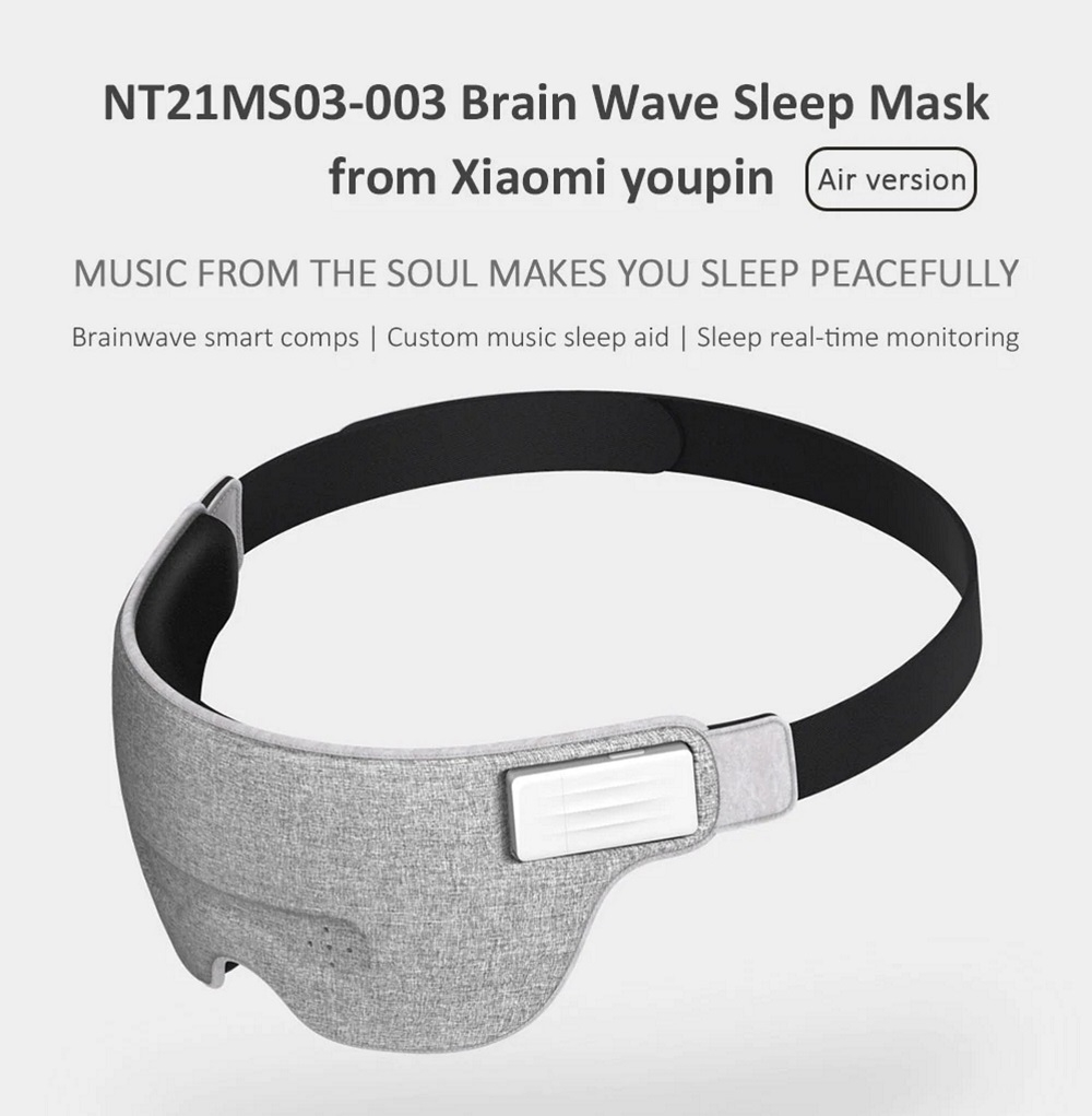 Xiaomi Youpin - Air Brain Wave Help Sleep Eye Mask
