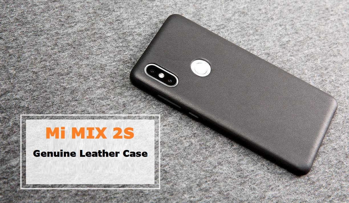 Mi MIX 2S Leather Case
