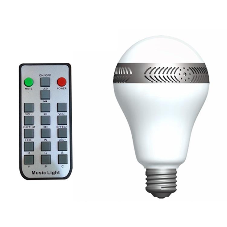 Smart Led Music Light Bluetooth Bulb Speaker