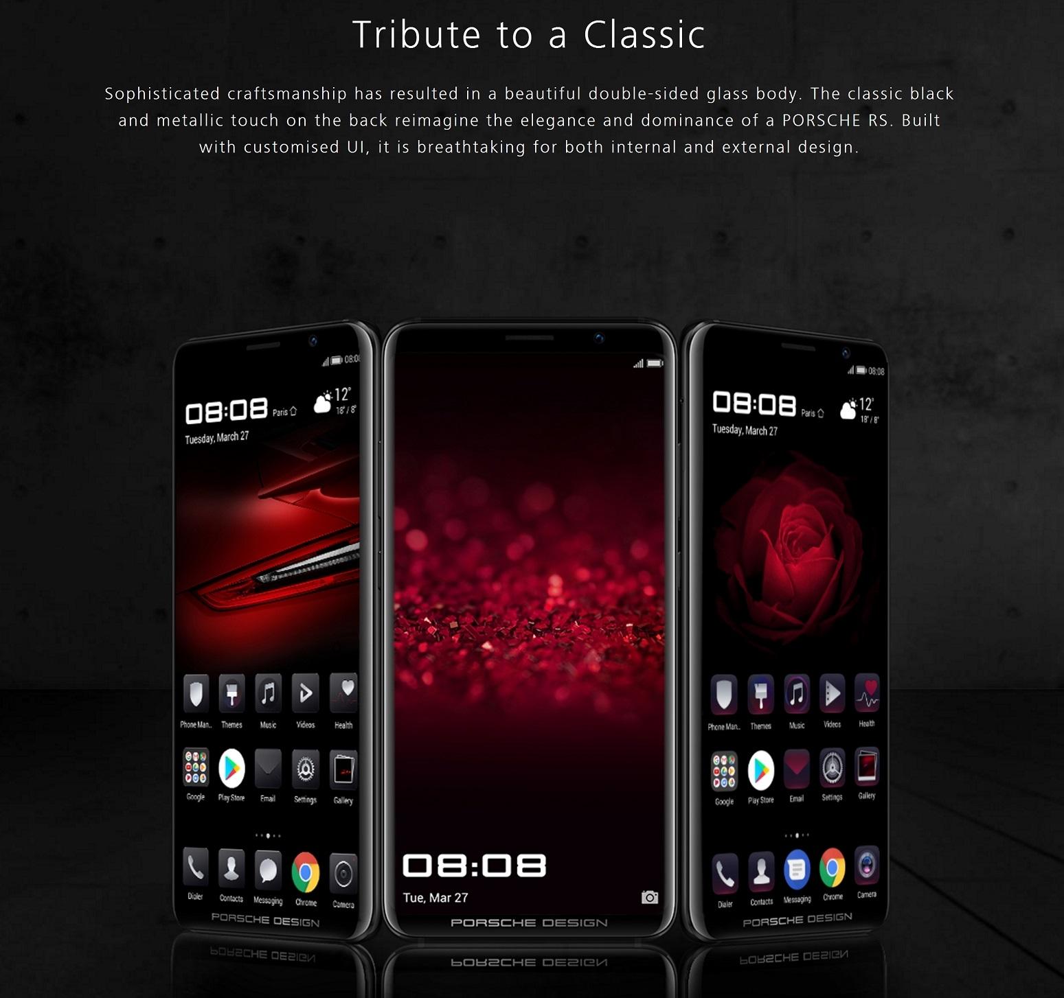 Huawei Mate Rs Porsche Design Smartphone 6gb 256gb