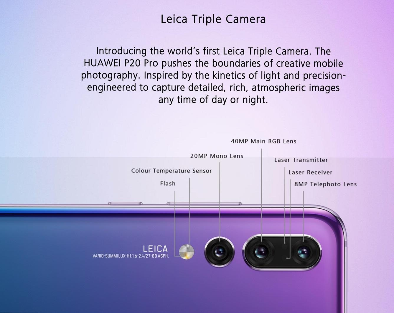 Huawei P20 Pro Smartphone 6GB128GB
