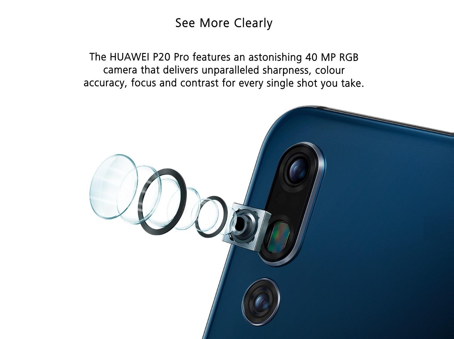 Huawei P20 Pro Smartphone 6gb 64gb