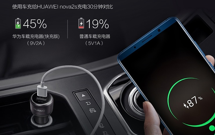 Huawei Car Fast Charger