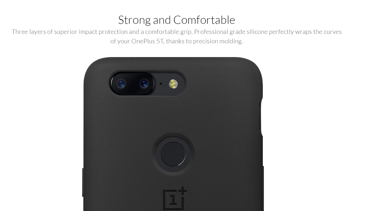 newest 4402b 0f1d1 OnePlus 5T Silicone Protective Case