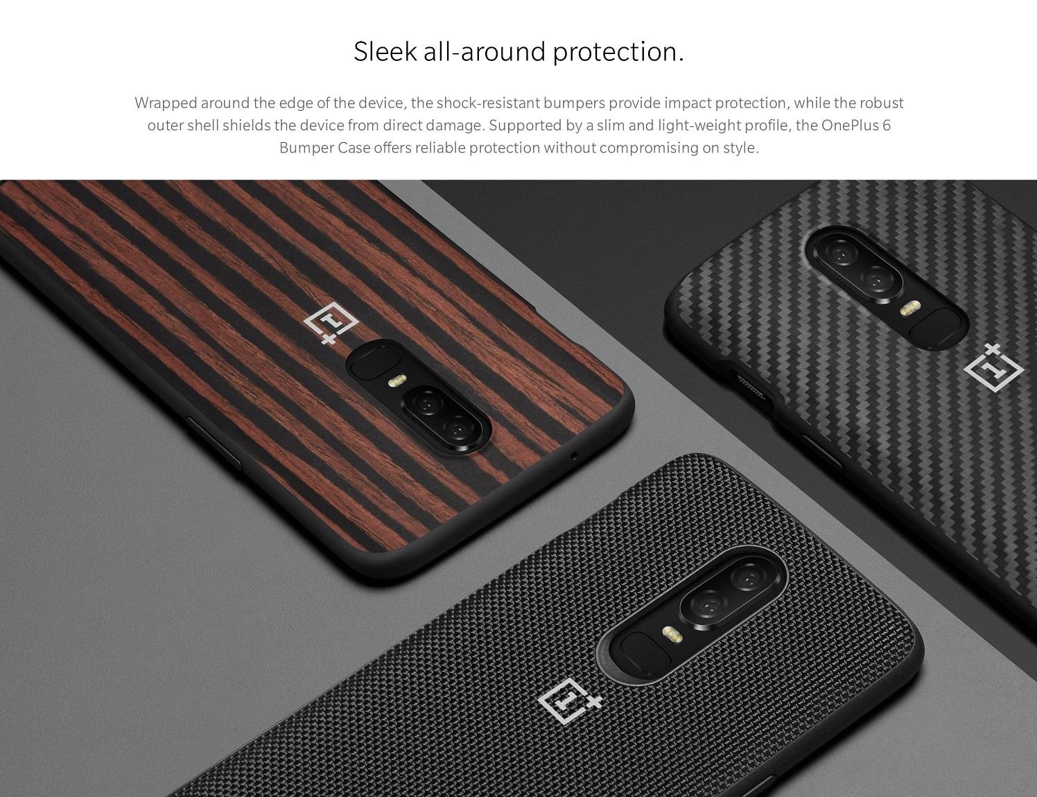 OnePlus 6 Bumper Case