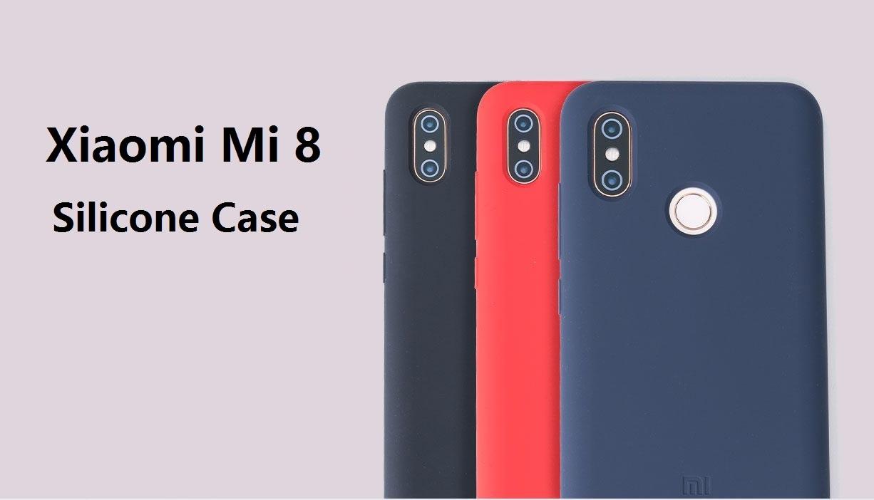 the best attitude 3d586 c348d Xiaomi Mi 8 Silicone Protective Case