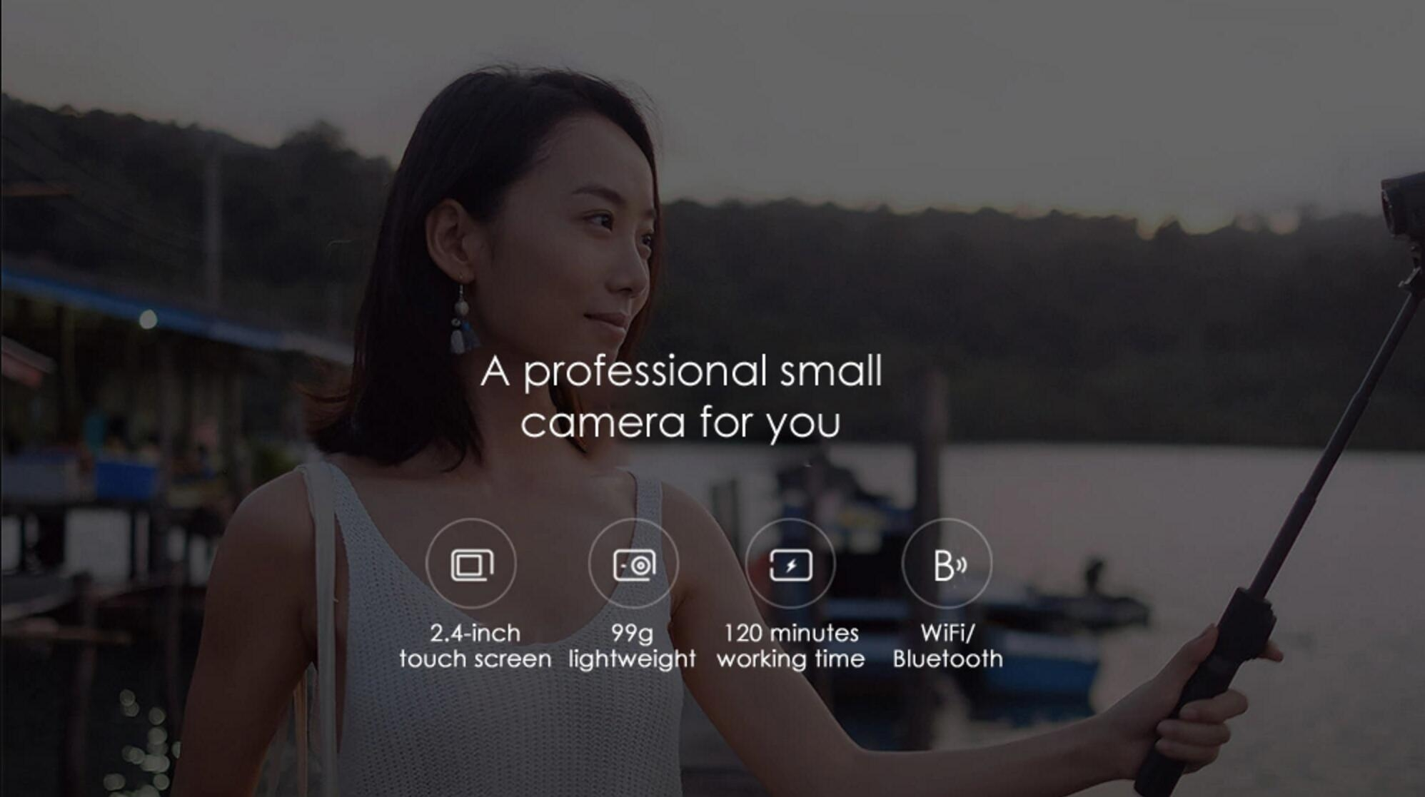 Xiaomi Mijia 4K Mini Action Camera