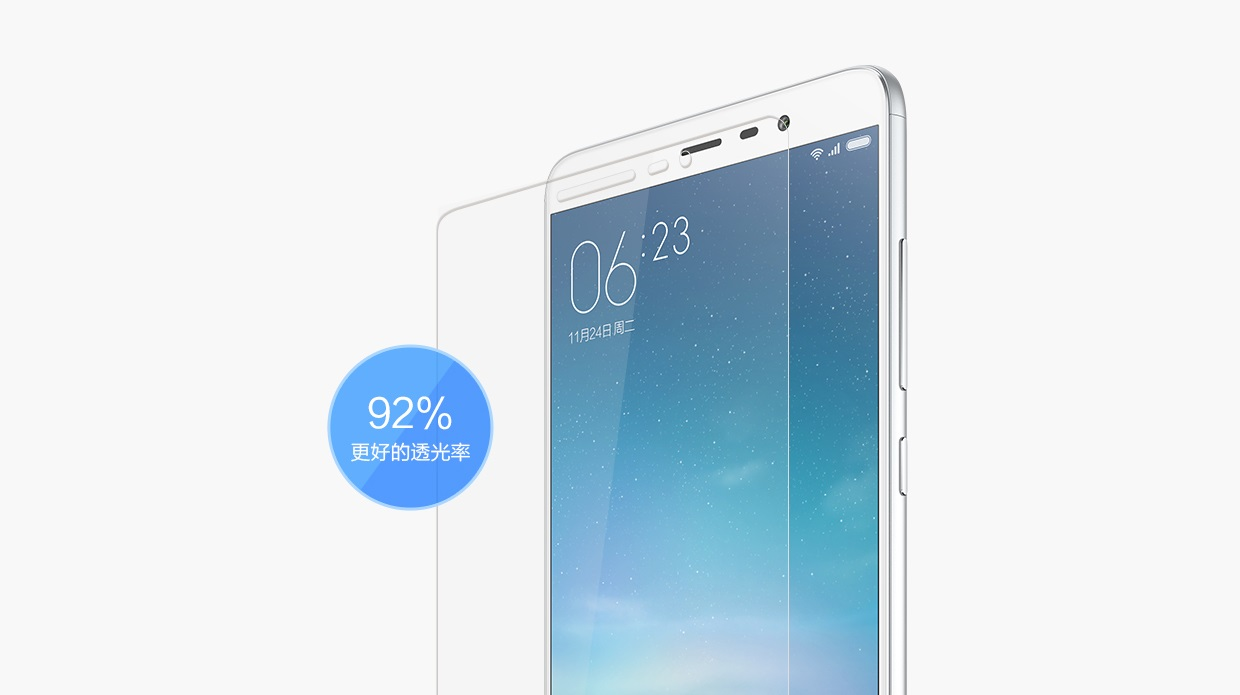 Tempered Screen Protector for Redmi Note 3