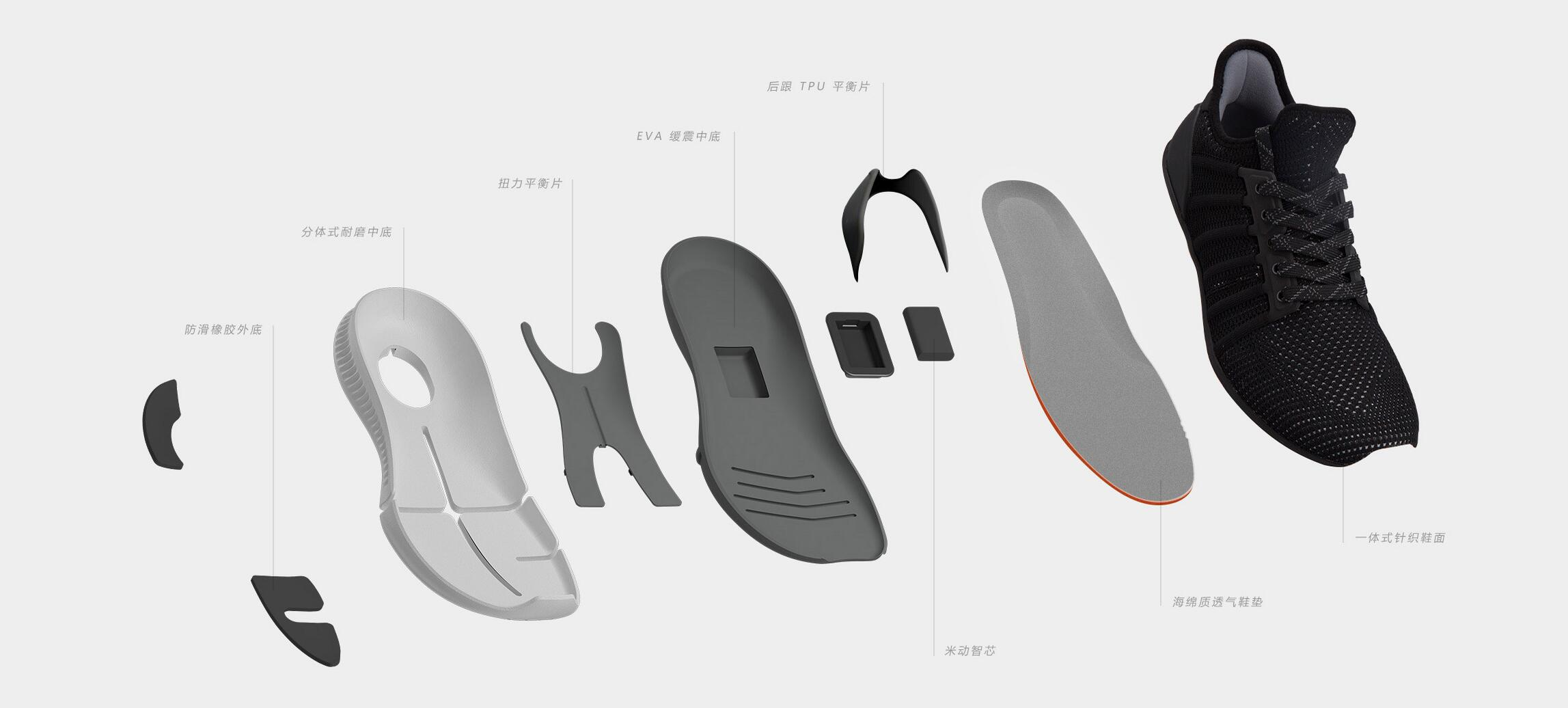 Xiaomi Mijia Smart Shoes
