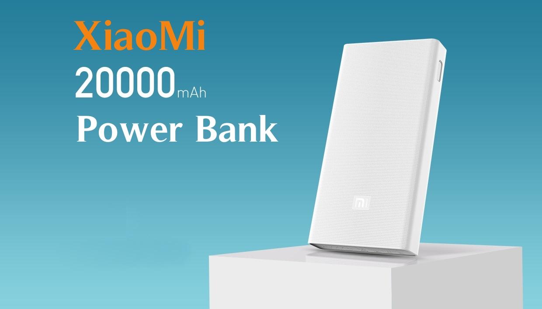 original xiaomi mi power bank 20000mah